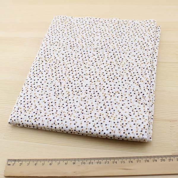 04 - collection Typha - tissu à petits ronds bruns